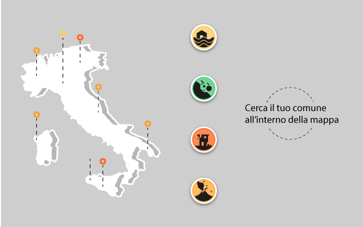 La mappa del rischio idrogeologico in Italia | Sky TG24